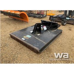 "QUICK ATTACH SKID STEER 72"" BRUSH MOWER"