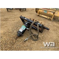 QUICK ATTACH SKID STEER AUGER