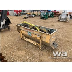 SKID STEER AUGER BUCKET
