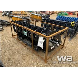 SKID STEER 72'' ROOT RAKE GRAPPLE