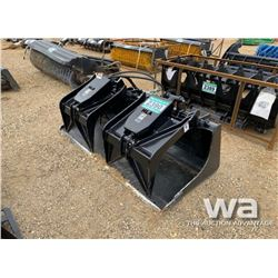 "HLA HYD. SKID STEER 72"" GRAPPLE BUCKET"