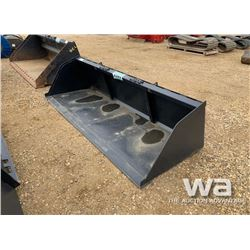 "HEAVY DUTY 102"" SKID STEER BUCKET"