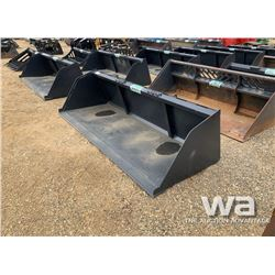 "96"" SKID STEER BUCKET"