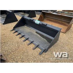 "SKID STEER 80"" TOOTH BUCKET"