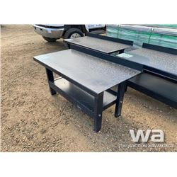 30X60 STEEL WELDING TABLE