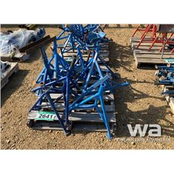 BLUE PIPE STANDS