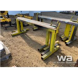 (4) SAWHORSE PIPE STANDS