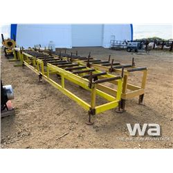 PIPE ROLLER DECK SECTIONS