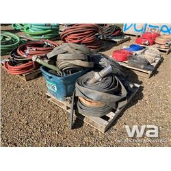 """PALLET OF 2"""" DISCHARGE HOSE & COUPLERS"""