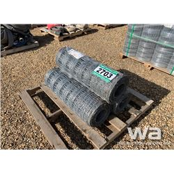 3 ROLLS OF PAGE WIRE