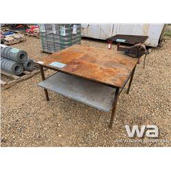 4 X 4.5 FT. WELDING TABLE