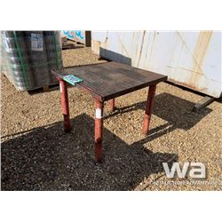 3 X 3 FT. WELDING TABLE