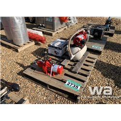 (3) ELECTRIC   WATER PUMPS