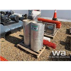 (2) ROLLS SHEET METAL FLASHING