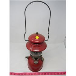COLEMAN OIL LAMP (RED)