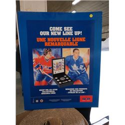 CANADA POST POSTER (COME SEE OUR NEW LINE UP! GREAT NHL ALL STAR COLLECTIBLES AVAILABLE HERE) )