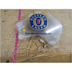 FOSTER LAGER LIGHT (AS IS-DOES NOT LIGHT UP) *MAY NEED BULB*