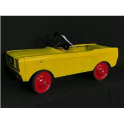 AMF MUSTANG PEDAL CAR, MID 1960'S (ORIGINAL)