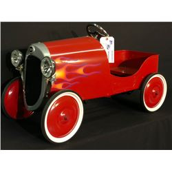 1934 FORD HOT ROD PEDAL CAR, NEWLY MADE, NOT REPRODUCTION, NEVER USED, 1 OF 1 WITH HEADLIGHTS