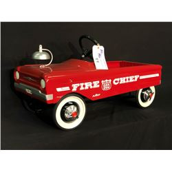 AMF FIRE CHIEF 503 PEDAL CAR,