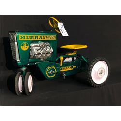 "MURRAY ""DIESEL TRAC"" TIN 2 TON PEDAL TRACTOR,"