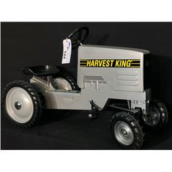 HARVEST KING PEDAL TRACTOR, EARLY 2000'S, NEW, NEVER USED