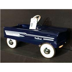 MURRAY 1958 FORD THUNDERBIRD PEDAL CAR,