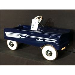 MURRAY 1958 FORD THUNDERBIRD PEDAL CAR,