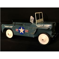 HAMILTON AIR FORCE JEEP PEDAL CAR,