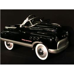 MURRAY EARLY 1950'S BUICK TORPEDO PEDAL CAR REPRODUCTION,
