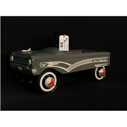 "AMF ""JET SWEEP"" PEDAL CAR,"