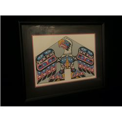 "RICHARD HUNT, FRAMED LIMITED EDITION SILK SCREEN PRINT, ""EAGLE HOUSE FRONT"", 2/180, SIGNED ON"