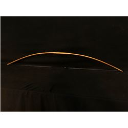 "NORTHWEST NATIVE YEW WOOD STRUNG & WRAPPED BOW, 53.5"" LONG"