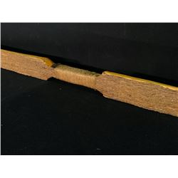 "NATIVE SINEW WRAPPED BOW, 65"" LONG"