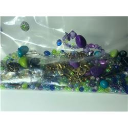 LARGE BAG OF ASSORTED COSTUME JEWELLERY