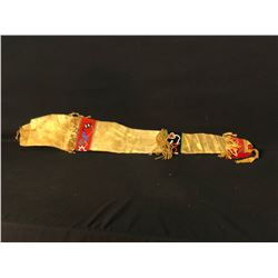 """TLINGIT NATIVE BEADED SCABBARD RIFLE BAG, APPROX. 45"""" LONG"""