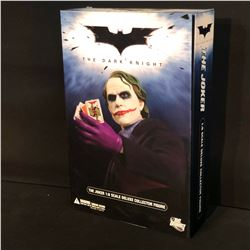 DC DIRECT, THE JOKER FROM THE DARK KNIGHT 1:6 SCALE DELUXE COLLECTOR FIGURE IN ORIGINAL PACKAGING