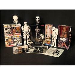 STARS WARS ASSORTED COLLECTABLES INC. POP! FIGURINES, DISNEY ACTION FIGURES, ARTFX CAPTAIN PHASMA