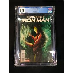 INVINCIBLE IRON MAN #1, CGC GRADED 9.8, SEALED AND BAGGED