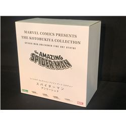 MARVEL KOTOBUKIYA COLLECTION LIMITED EDITION THE AMAZING SPIDERMAN FINE ART STATUE, IN ORIGINAL