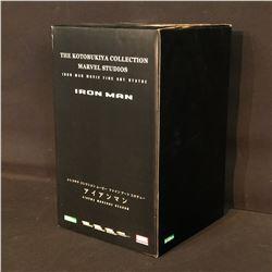 MARVEL KOTOBUKIYA COLLECTION LIMITED EDITION IRON MAN FINE ART STATUE, IN ORIGINAL PACKAGING,