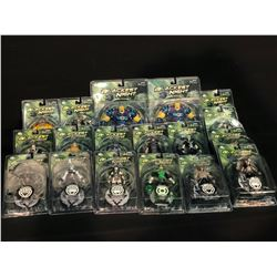 """COLLECTION OF 18 ASSORTED DC """"BLACKEST KNIGHT"""" FIGURINES FROM VARIOUS SERIES, ALL IN ORIGINAL"""