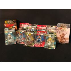 LOT OF ASSORTED DRAGON BALL Z AND RELATED ACTION FIGURES, EACH IN ORIGINAL PACKAGING