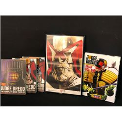 "JUDGE DREDD COLLECTABLES INC. ""THE COMPLETE CASE FILES"" BOOKS 1-3, ""THE COMPLETE"" HARD COVER BOOK,"