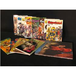 """COLLECTION OF DARK HORSE BOOKS GRAPHICS NOVELS INC. EMPOWERED BOOKS 1-8, """"THE GOON"""", FRAY, AND 300"""
