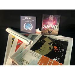 """STAR TREK COLLECTABLES INC. """"FEDERATION, THE FIRST 150 YEARS"""" COLLECTOR'S BOOK, """"THE COMPLETE"""