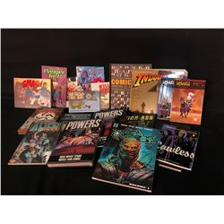 ASSORTED PUBLISHER GRAPHIC NOVELS, COLLECTABLE BOOKS AND MORE