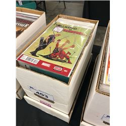 SHORT BOX OF MIXED PUBLISHER COMICS, MOSTLY 2000S AND LATER