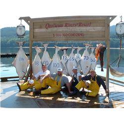 QUALICUM RIVERS RESORT LTD.: Winter Harbour, B.C.
