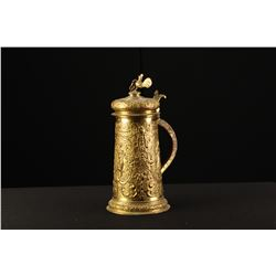 Antique Brass Tankard